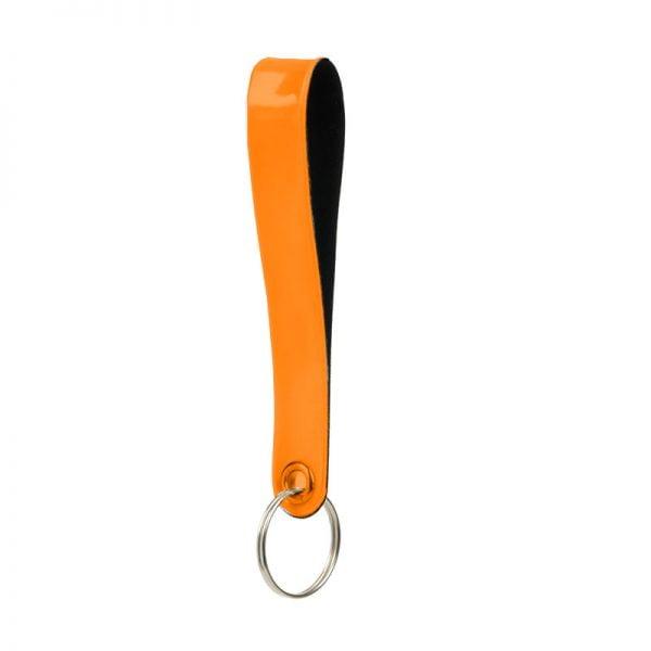 brelok do kluczy - pomarańczowy