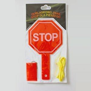 Znak odblaskowy - STOP