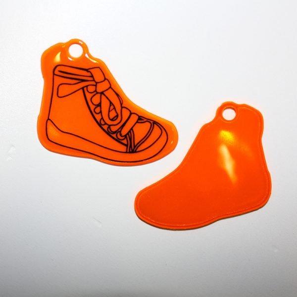 Zawieszka odblaskowa miękka but