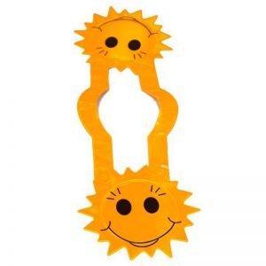 Szelka odblaskowa dla dzieci - słońce