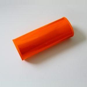 Rękaw odblaskowy rowerowy pomarańczowy