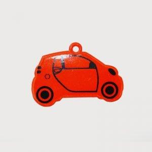 Zawieszka odblaskowa miękka - samochód
