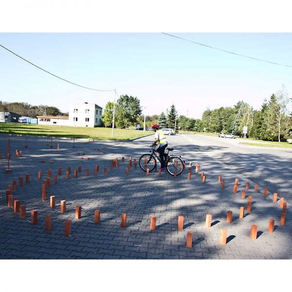 Ósemka - rowerowy tor przeszkód