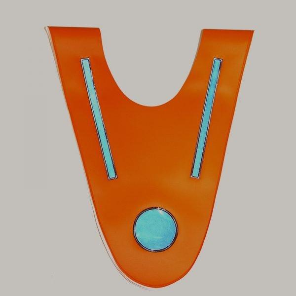 Pomarańczowa szelka odblaskowa dla dziecka