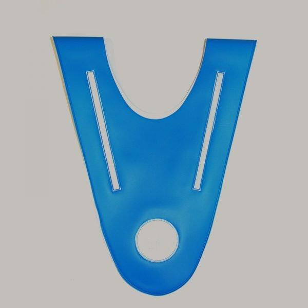 Niebieska szelka odblaskowa dla dziecka