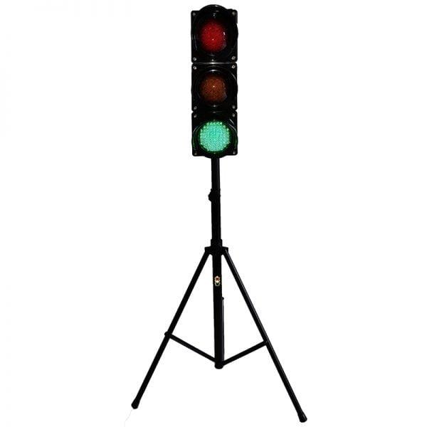 Sygnalizator 3-komorowy dla ruchu kołowego - statyw