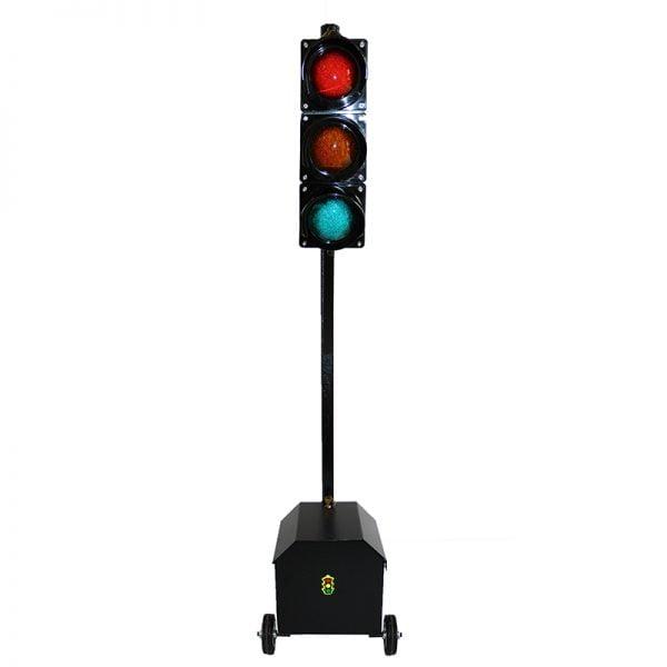 Sygnalizator 3-komorowy dla ruchu kołowego - skrzynka