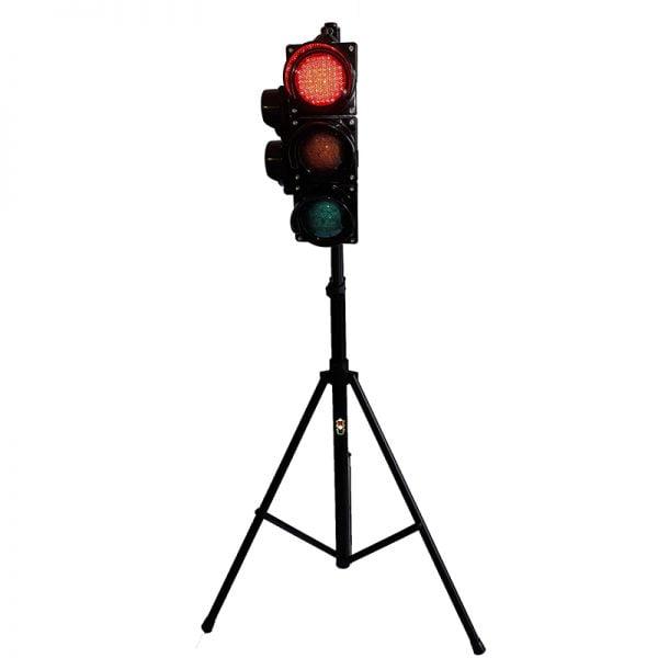 Sygnalizator 3/2-komorowy dla ruchu pieszo-kołowego - statyw