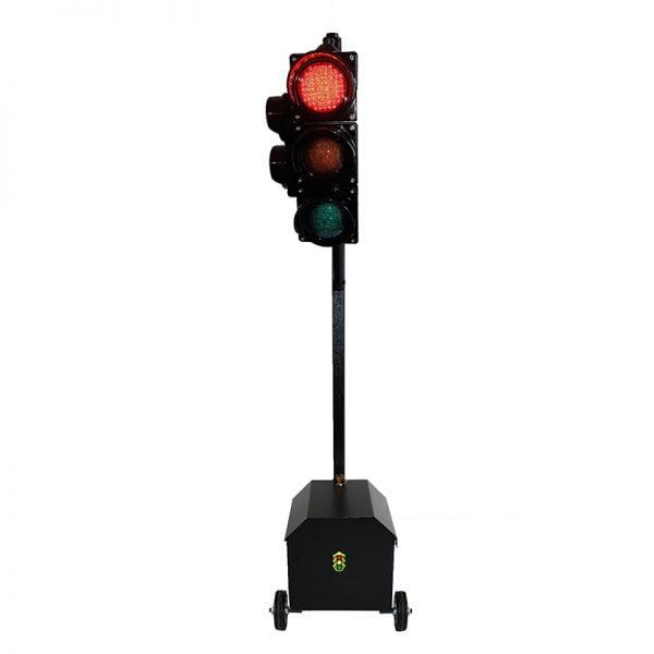 Sygnalizator 3/2-komorowy dla ruchu pieszo-kołowego - skrzynka