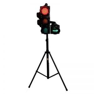 Sygnalizator 3/2-komorowy + strzałka - statyw