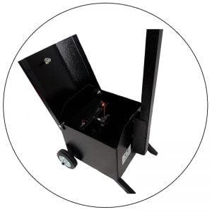 Sygnalizator 3/2-komorowy dla ruchu pieszo-kołowego