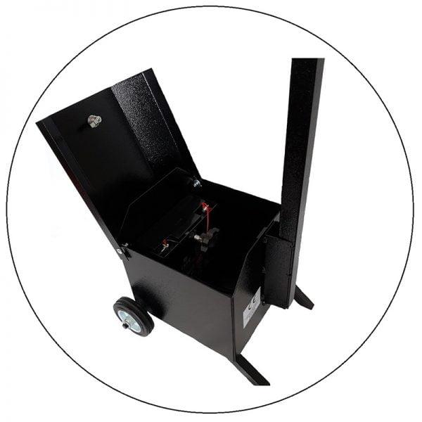 Sygnalizator 3-komorowy dla ruchu kołowego