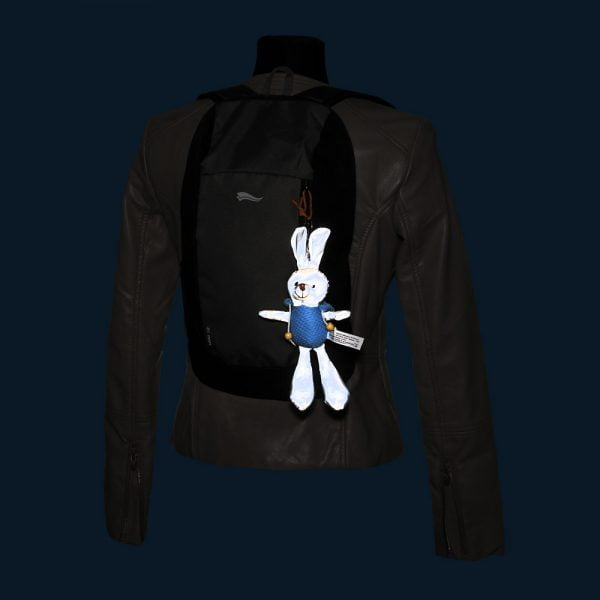 Maskotka odblaskowa królik Bunny