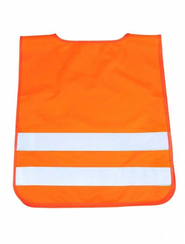 pomarańczowa kamizelka odblaskowa dla dzieci UU203KID - tył