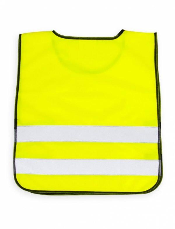 żółta kamizelka odblaskowa dla dzieci UU203KID - tył
