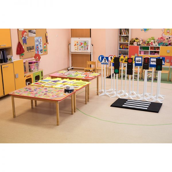 Mini miasteczko dla przedszkolaka - zestaw