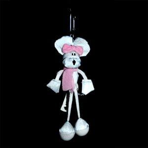 Maskotka odblaskowa - myszka