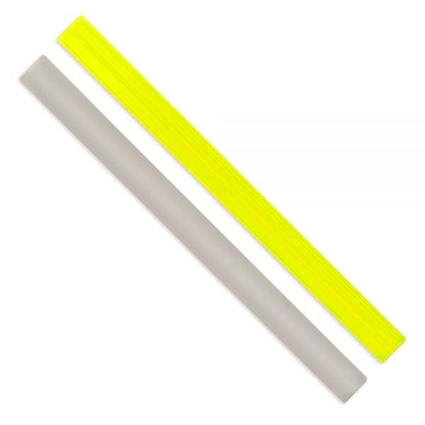 Żółta opaska odblaskowa z folii AGR
