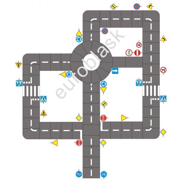 Mobilne miasteczko ruchu drogowego - projekt nr 4