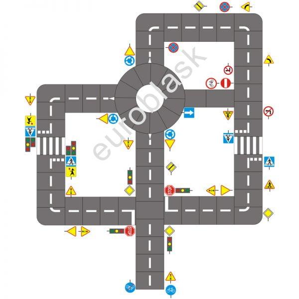 Mobilne miasteczko ruchu drogowego - projekt nr 5