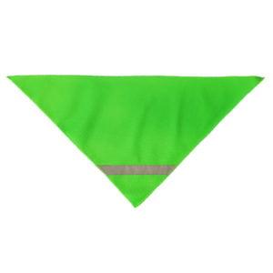 Chusta odblaskowa- zielona